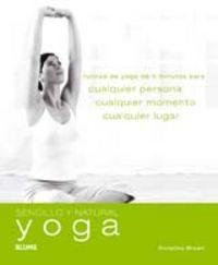 Sencillo y natural. yoga