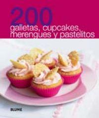 200 galletas cupcakes y pastelitos