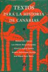 Comentarios de textos historicos de canarias