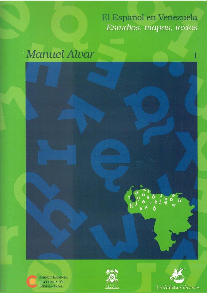Español en venezuela estudios mapas textos 3 vol
