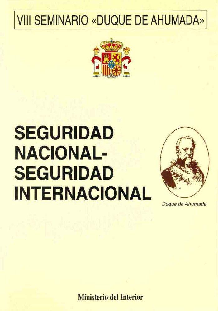 Seguridad nacional seguridad internacional