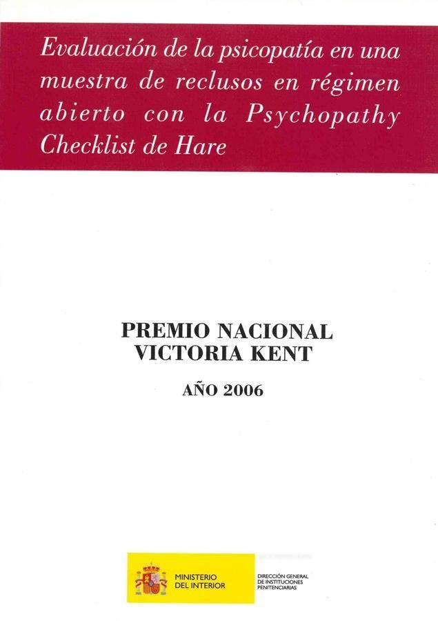 Evaluacion de la psicopatia en una muestra de reclusos en re