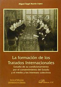 Formacion de los tratados internacionales,la