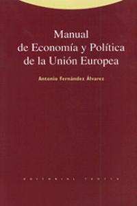 Manual economia politica union europea
