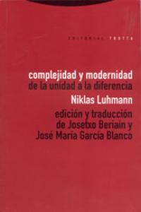 Complejidad y modernidad