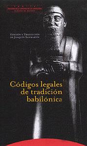 Codigos legales tradicion babilonica
