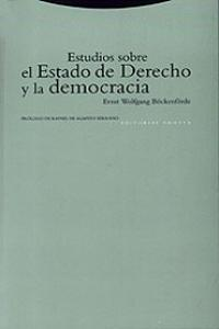 Estudios sobre estado derecho y democracia