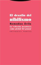 Desafio del nihilismo,el