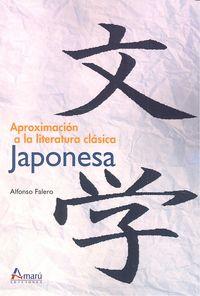 Aproximacion literatura clasica japonesa
