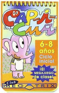 Capicua 6-8 años club megatrix