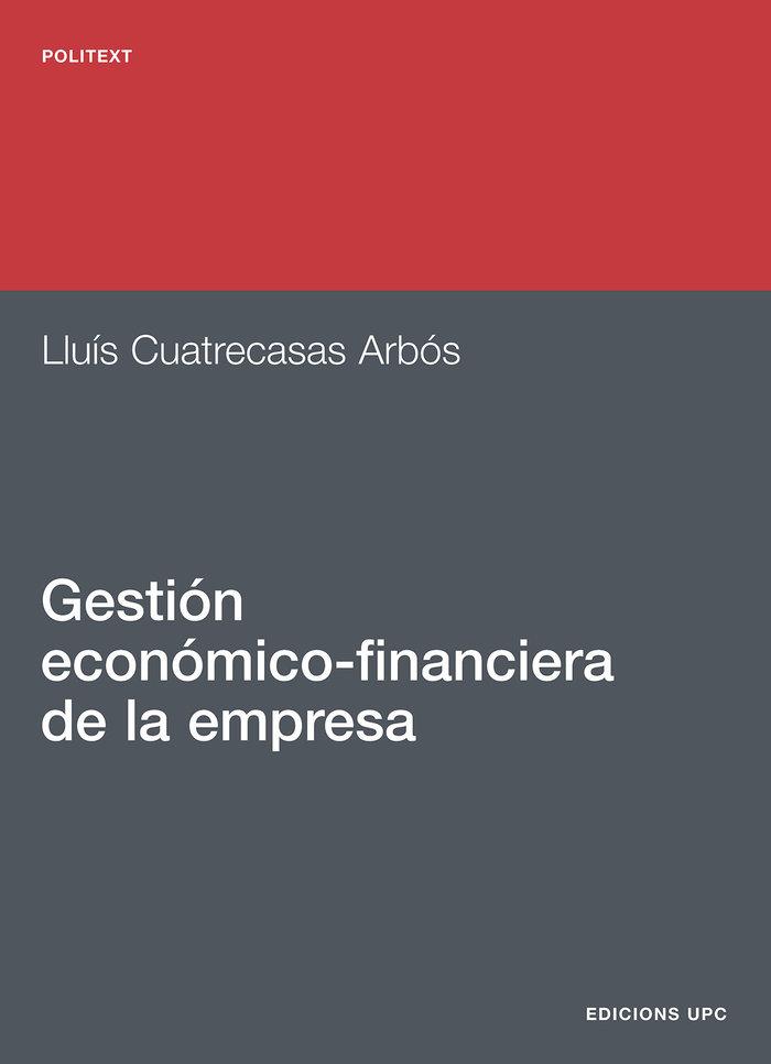 Gestion economico-financiera de la empresa