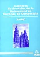Auxiliar de servicio de la universidad de santiago de compos