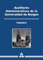 Auxiliar administrativo de la universidad de burgos