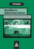 Auxiliar administrativo de la universidad de extremadura