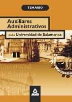 Auxiliar administrativo de la universidad de salamanca