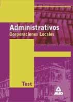 Administrativo corporaciones locales test