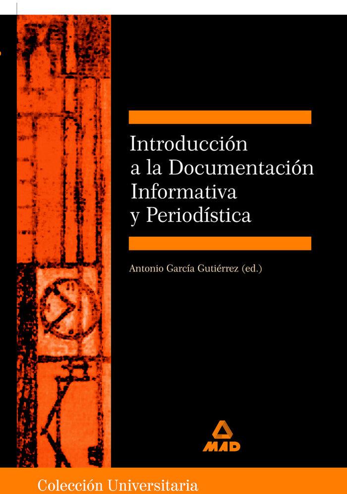 Introduccion documentacion informativa y periodistica
