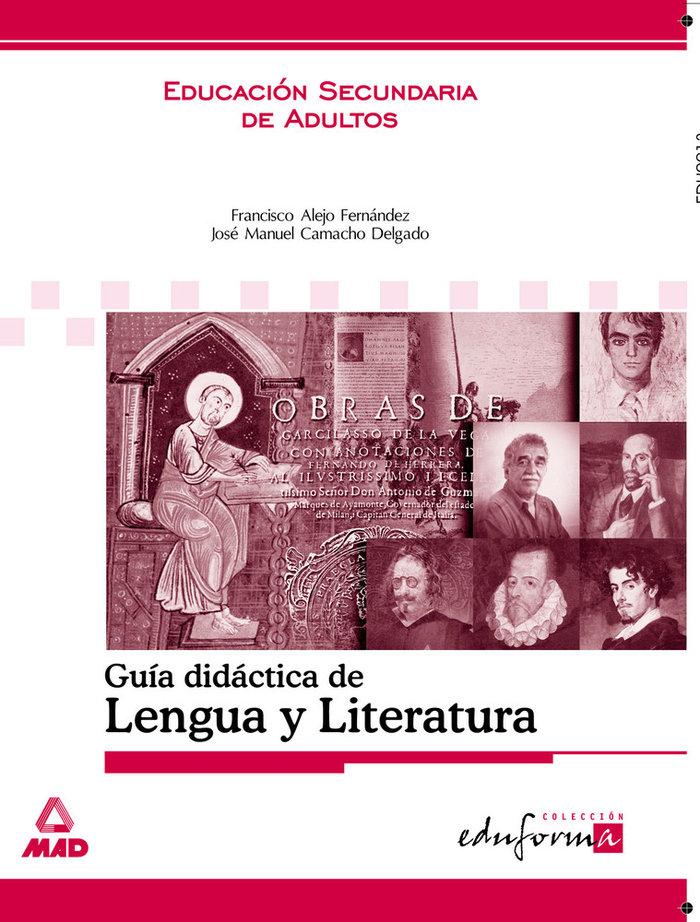 Lengua y literatura guia didactica