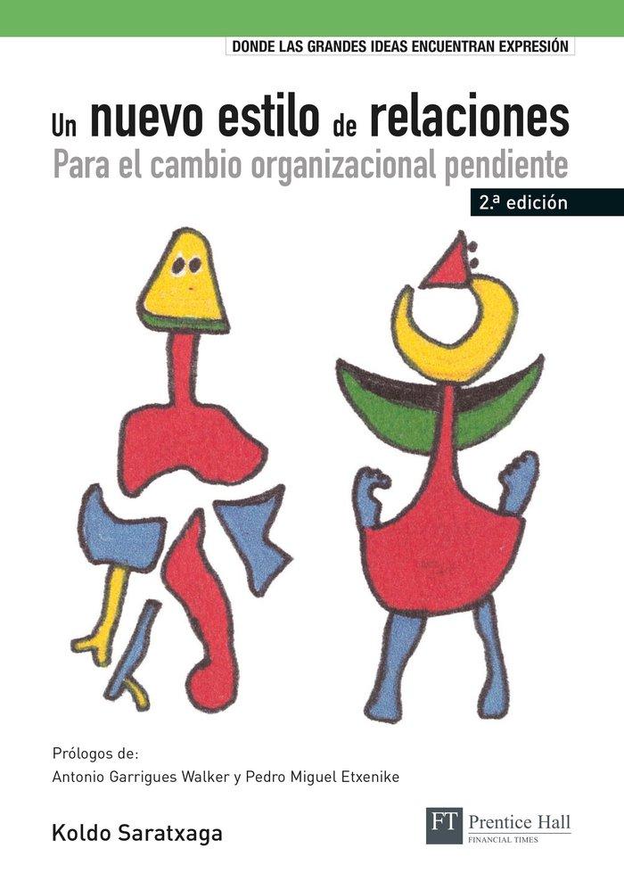 Nuevo estilo de relaciones para el cambio organizacional