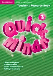 Quick minds level 3 teacher's resource book spanis