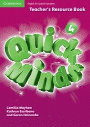 Quick minds level 4 teacher's resource book spanis