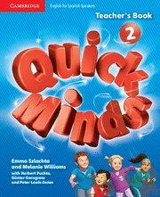 Quick minds level 2 teacher's book spanish edition
