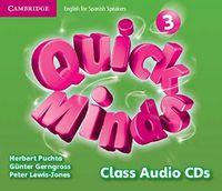 Quick minds 3 class audio cd