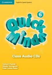 Quick minds level 6 class audio cds (5)