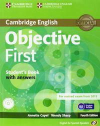 Objective first pk st+key+100 tips+wb+key+cd 14 es