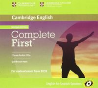 Complete first certif class cd spanish speakers
