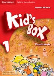 Kid's box for spanish speakers  level 1 flashcards