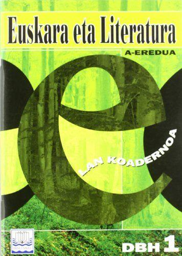 Koadernoa euskara literatura 1ºeso 00 a eredua