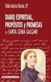 Diario espiritual, propositos y promesas de santa gema galga