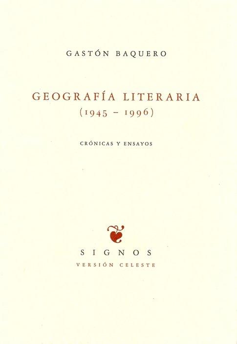 Geografia literaria (1945-1996)