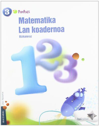 Koadernoa matematika 1 3ºep 12 pixepolis