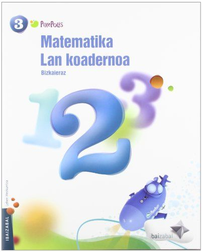 Koadernoa matematika 2 3ºep 12 pixepolis