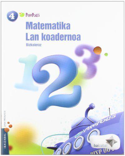 Koadernoa matematika 2 4ºep 12 pixepolis
