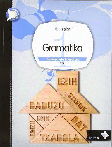 Gramatika 1ºeso 12 ikaslearen liburua