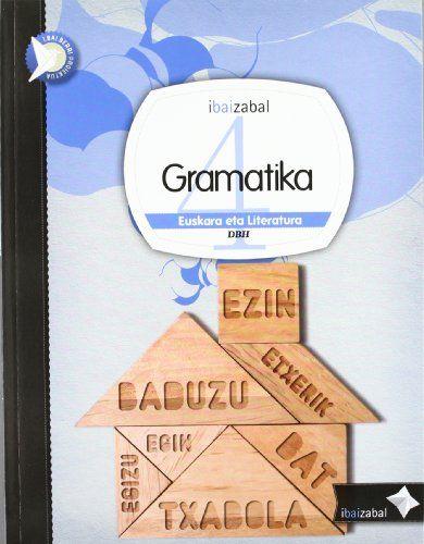 Gramatika 4ºeso 12 ikaslearen liburua