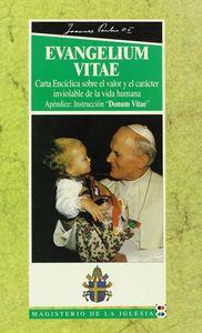 Evangelium vitae carta enciclica sobre el valor