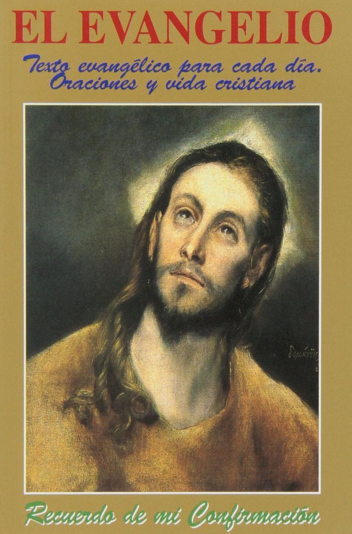 Evangelio: recuerdo de mi confirmacion,el