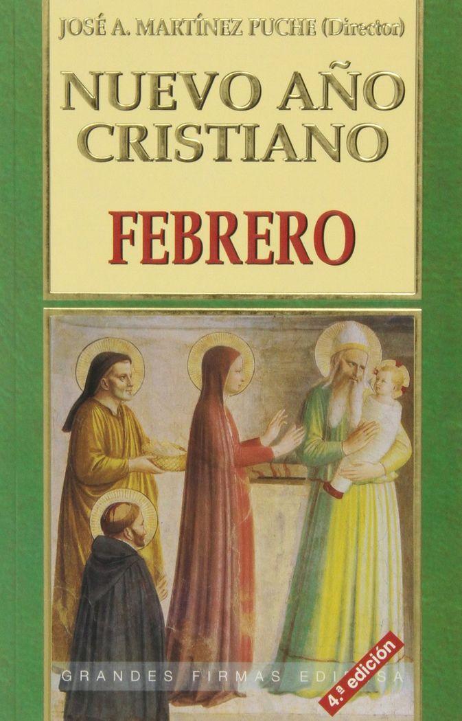 Nuevo año cristiano. febrero