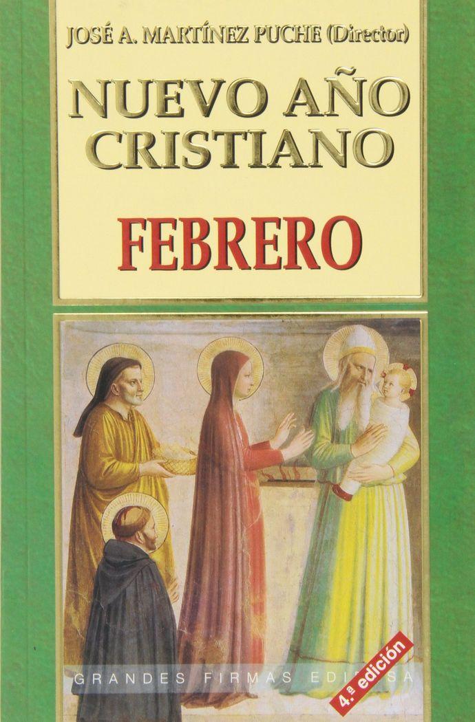 Nuevo año cristiano. marzo