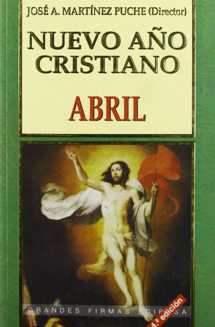 Nuevo año cristiano. abril