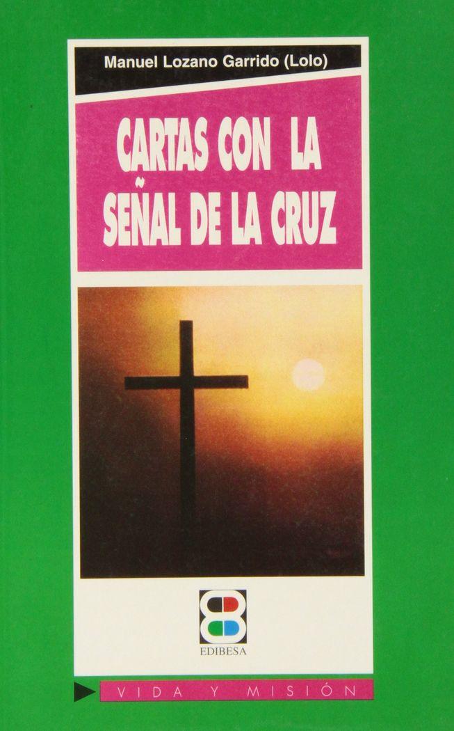 Cartas con la señal de la cruz