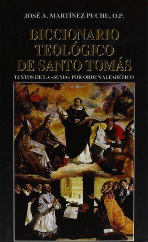 Diccionario teologico de santo tomas