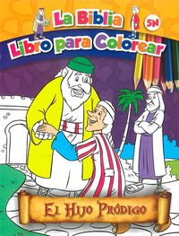 El hijo prodigo   la biblia libro para colorear 5n