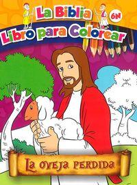 La oveja perdida   la biblia libro para colorear 6n