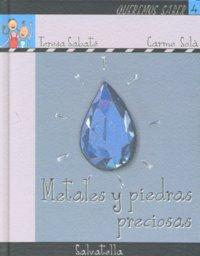 Metales y piedras preciosas