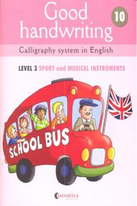 Good handwriting 10 level 3 sport and musical instruments